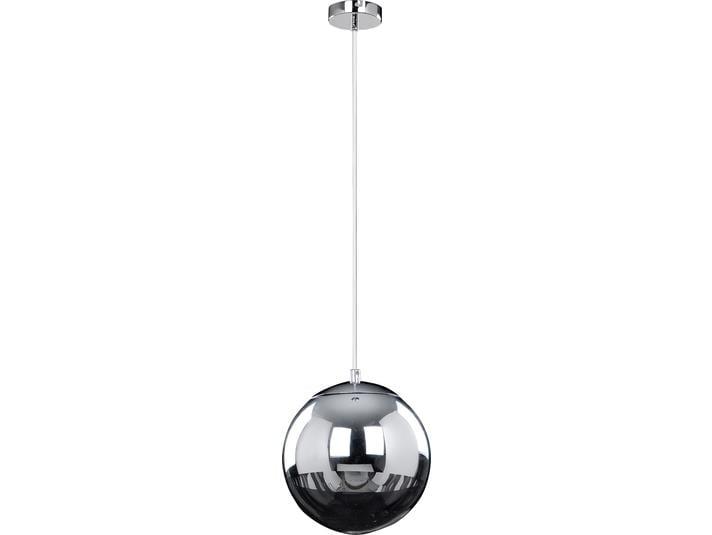 Chrómová přívěsná lampa Gino bílá / černá LED 3W