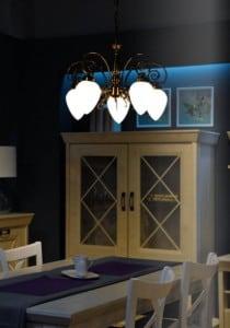 Klasický lustr pro Boss Patina 5 x E14 60W small 1