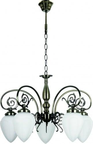 Klasický lustr pro Boss Patina 5 x E14 60W