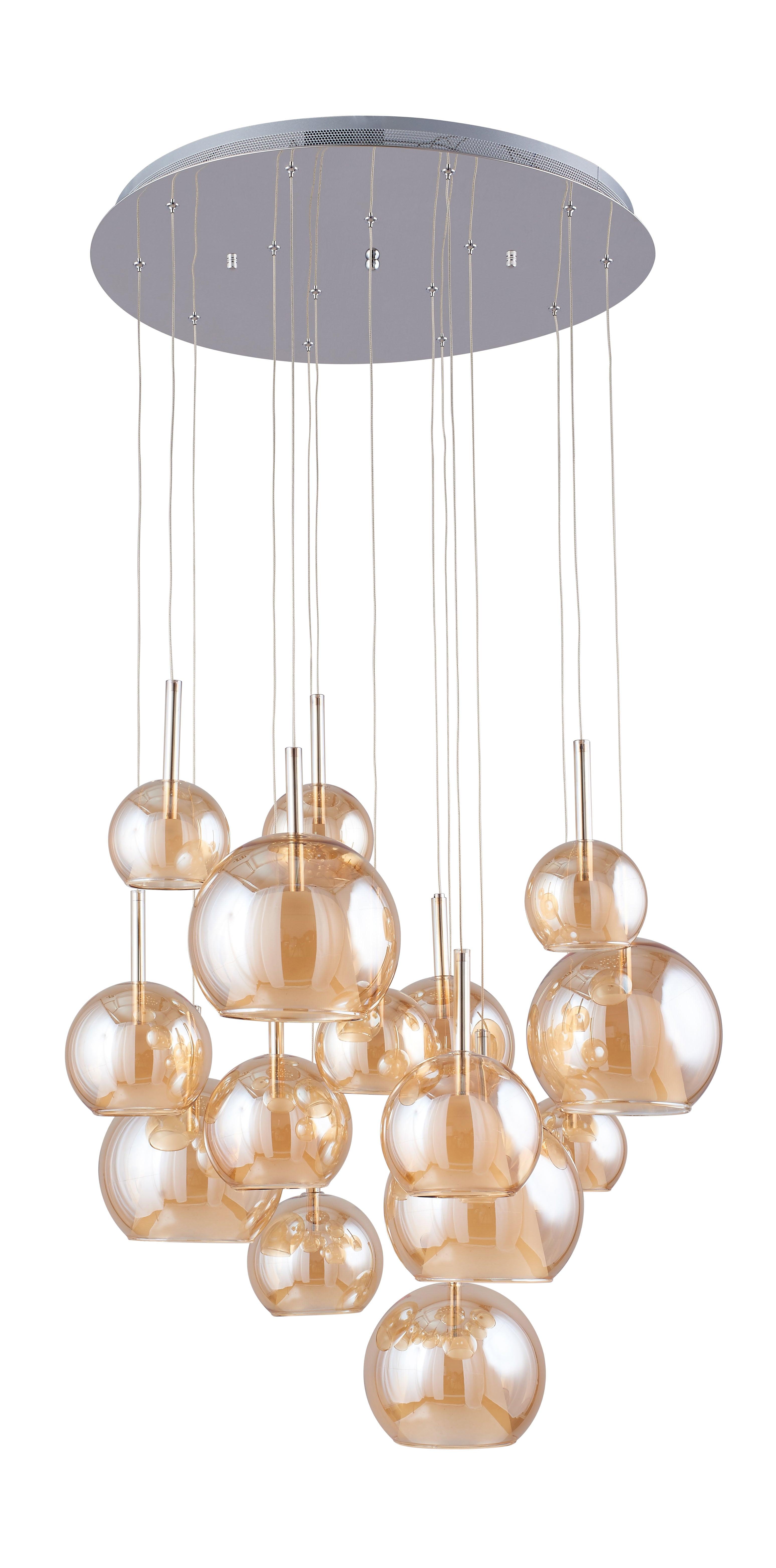 Svítilna Bellissima chrom / šampaňské G4 20W