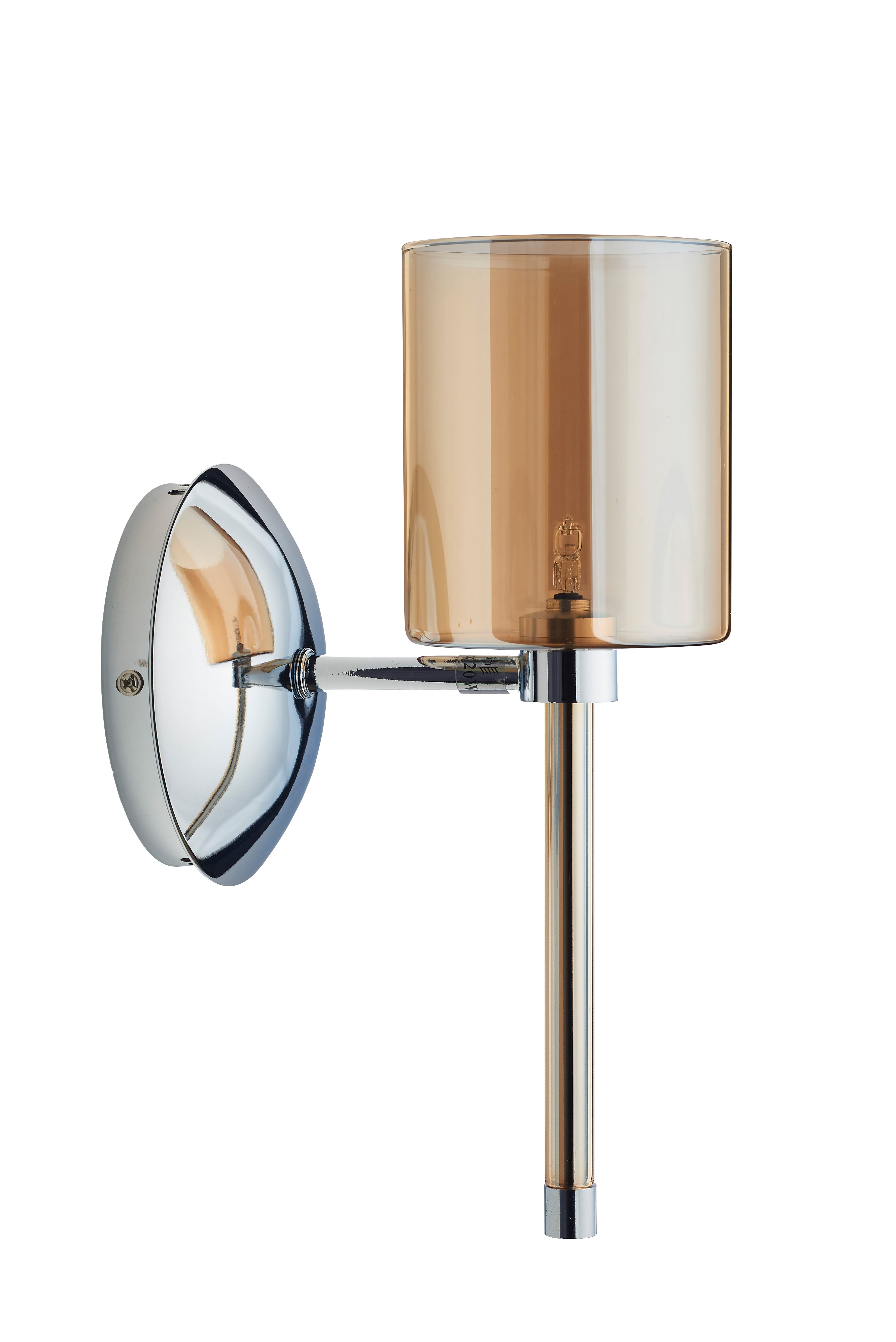 Modernismus Flaconetta chrom / Champagne G4 20W