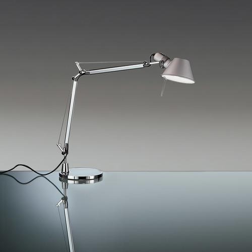 Stolní lampa Artemide Tolomeo Mini A005910 hliník