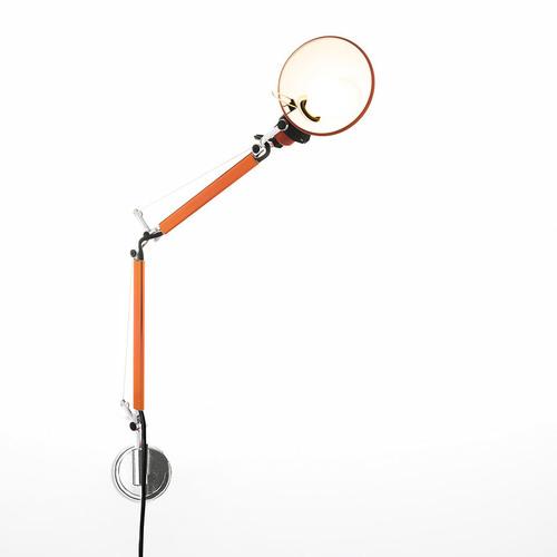 Nástěnná lampa Artemide Tolomeo Micro Wall A010960 + A025150