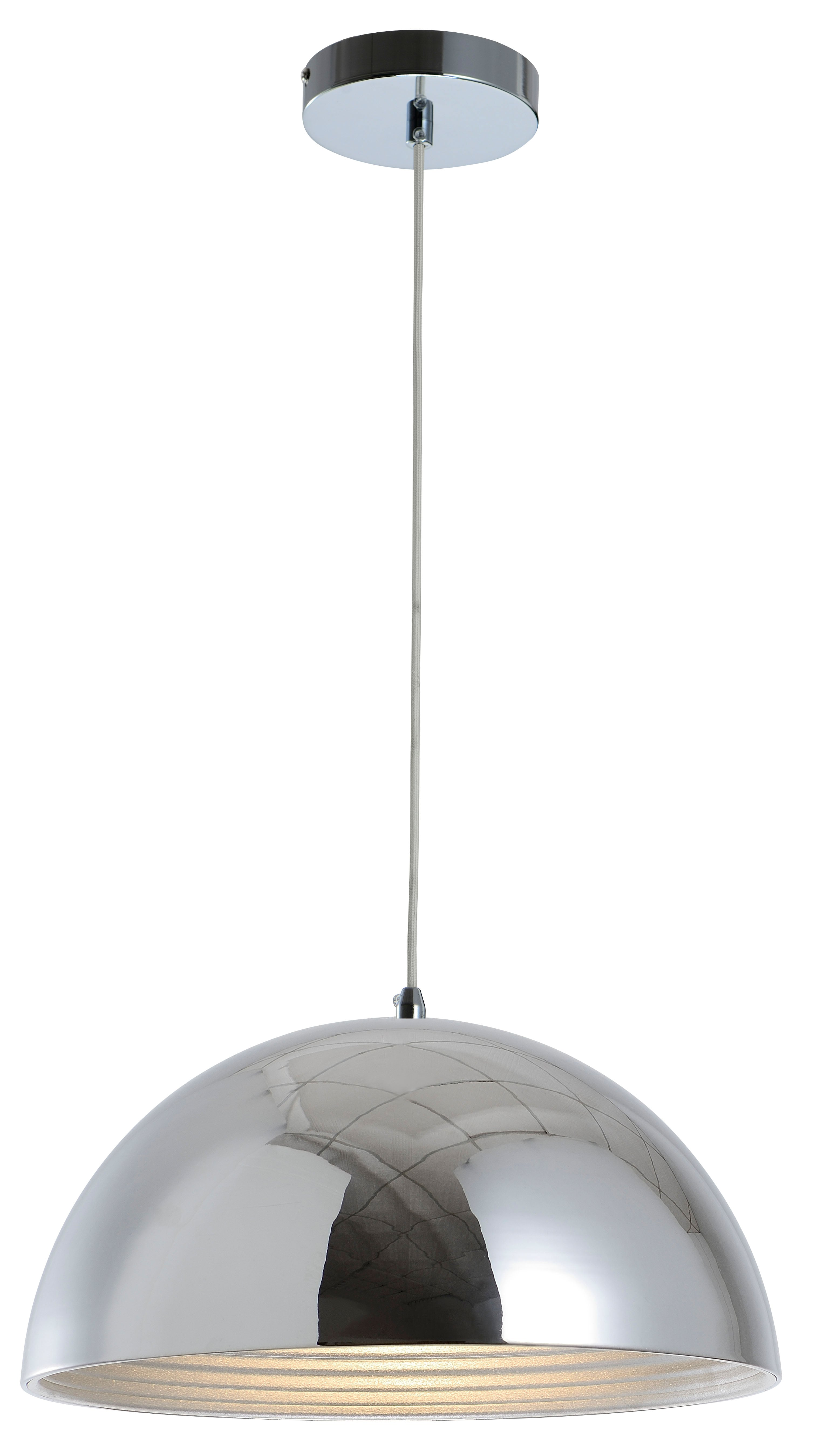 Závěsná půdní lampa Mads chrom E27 60W