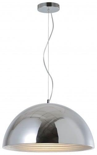 Závěsná lampa Loftowa Mads chrom E27 60W