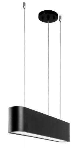 Czarna Industrialna Lampa wisząca Illumina LED 21W