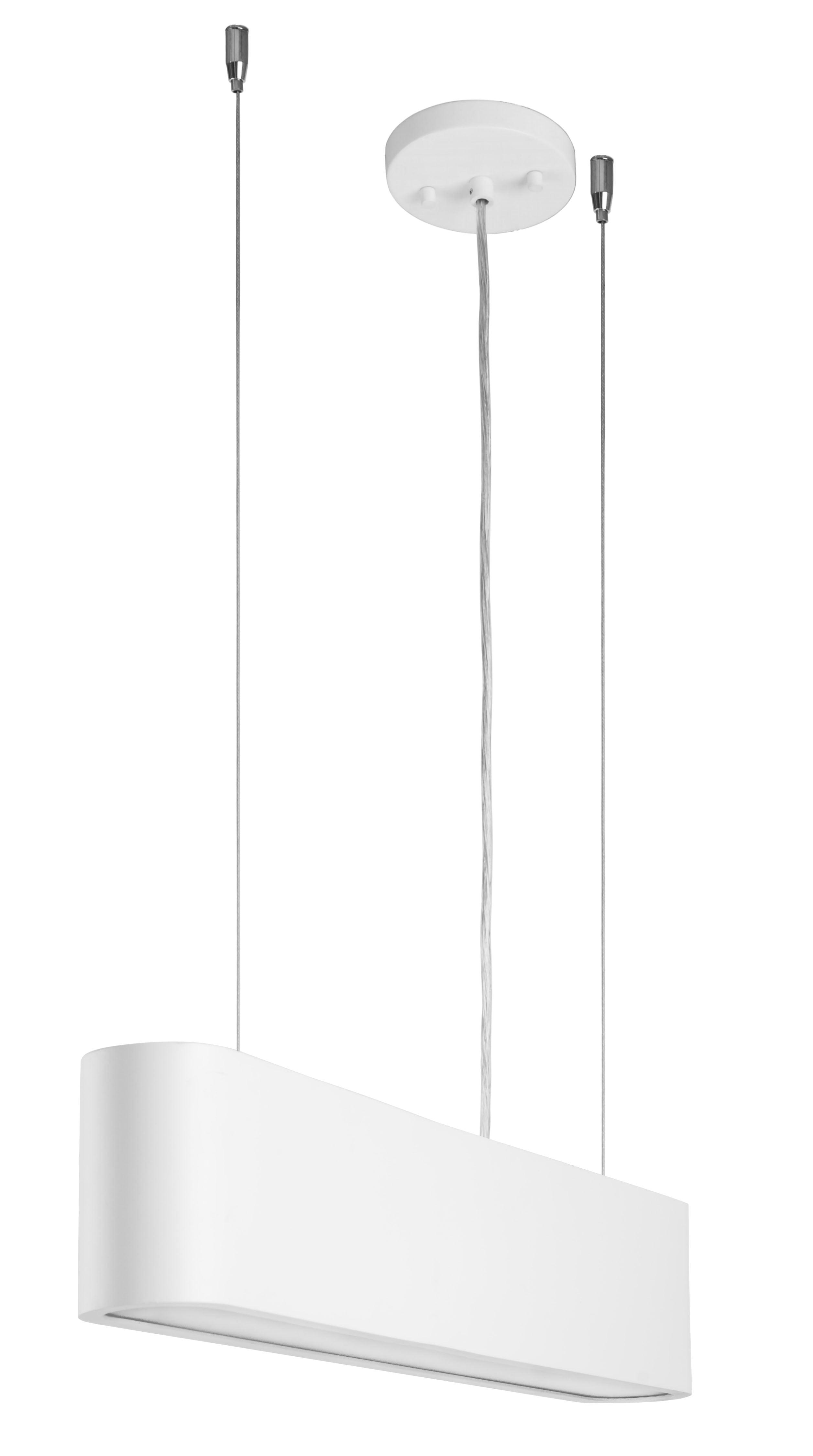 Bílá loftová závěsná lampa Illumina LED 35W