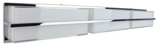 Nástěnná lampa Sally chromovaná / bílá LED 30W