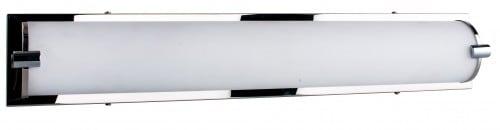 Chrómová nástěnná lampa Romy / bílá LED 27W