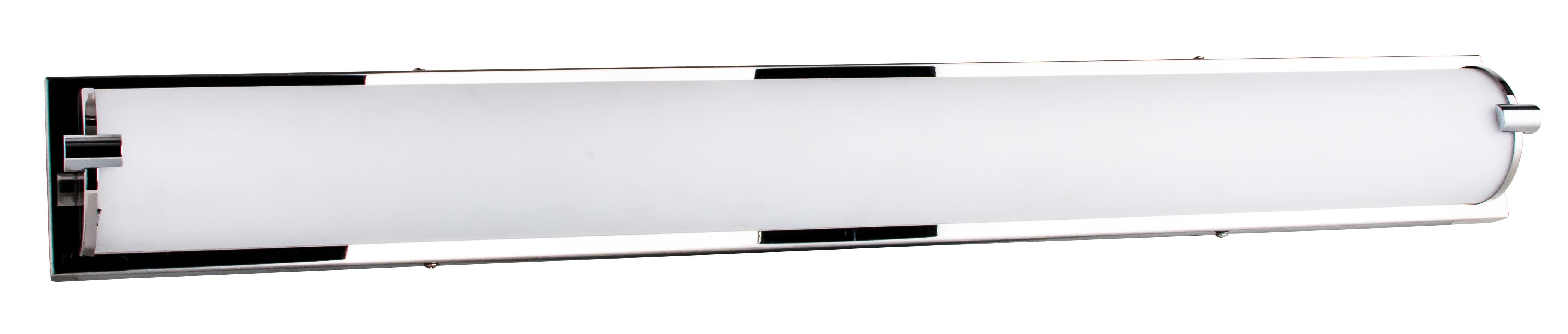 Nástěnná lampa Romy chromowany / bílá LED 40W