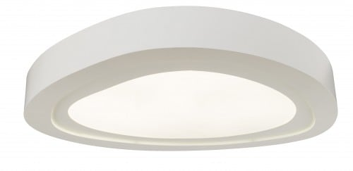 Plafond Cloud bílá LED 36W