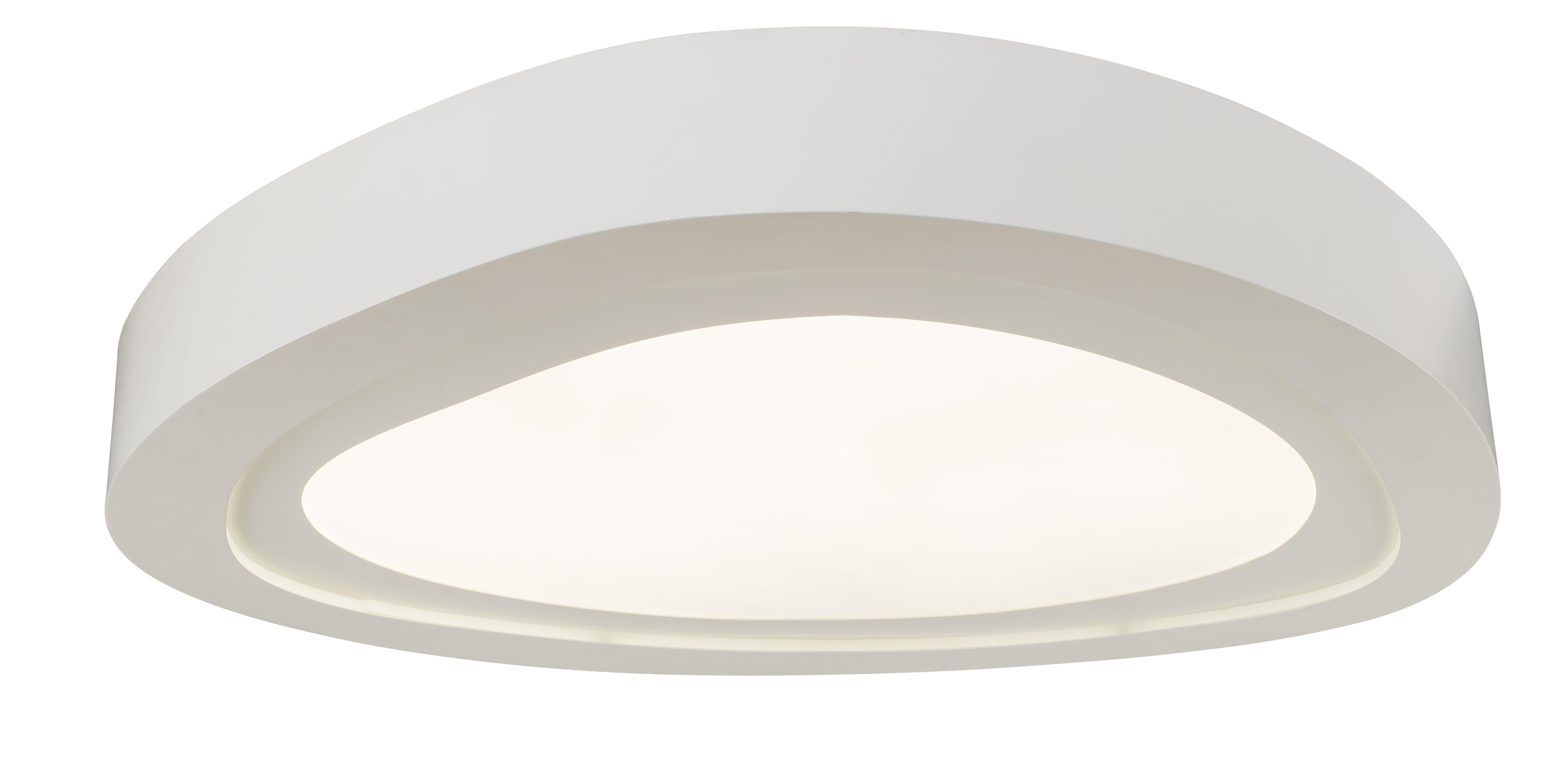 ModernPlafon Cloud bílá LED 66W