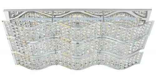 Vynikající stropní svítidlo vřeteno LED 24W chrom