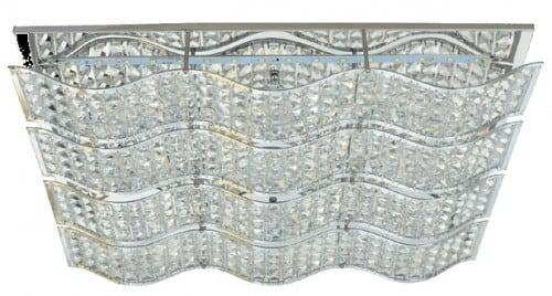 Dekorativní stropní svítidlo Vřeteno chrom LED 32W