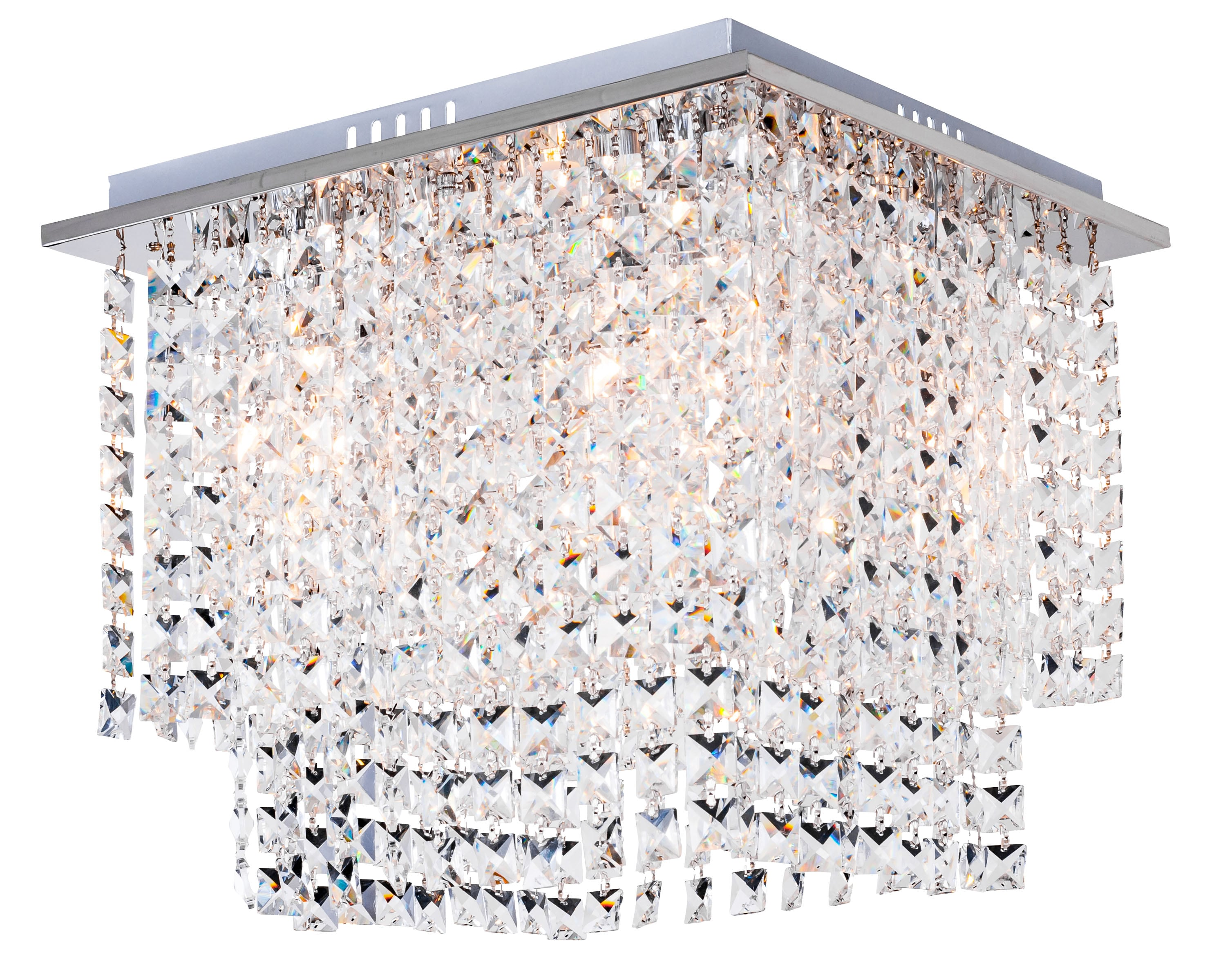 Luxusní strop Euphoria chrom E14 40W