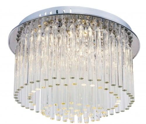Wytworny Plafon Euphoria chrom LED 3W
