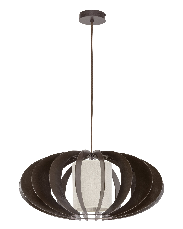 wenge / krém Keiko závěsná lampa E27 60W