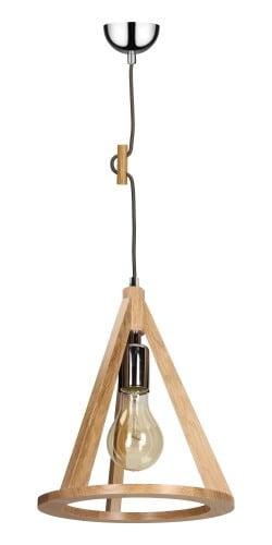 Lampa anko / chrom / antracitové závěsné E27 60W