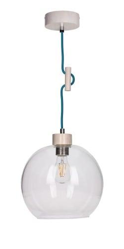 Industrialna Transparentna Lampa Sufitowa Wisząca SVEA