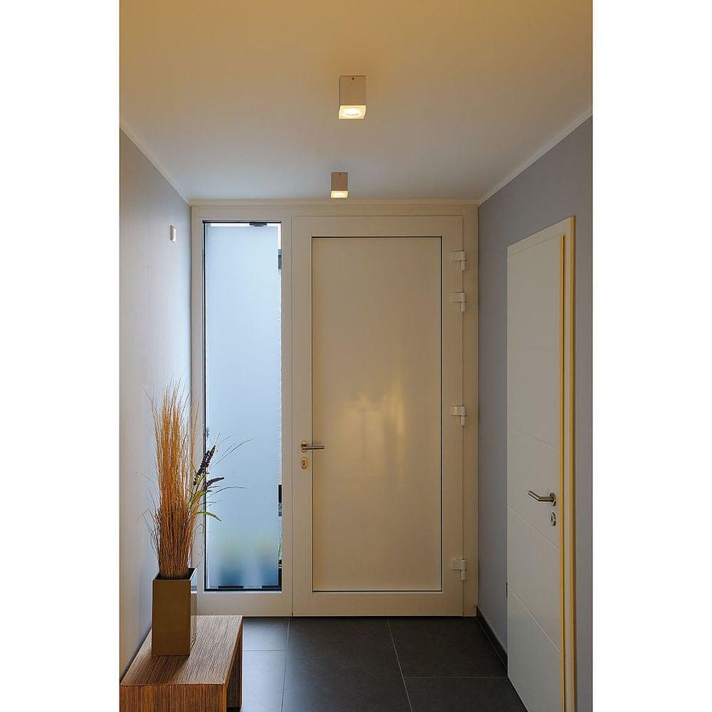Povrchová montáž na stěnu / Plafon SLV Spotline Tigla Square 50W GU10 QPAR51
