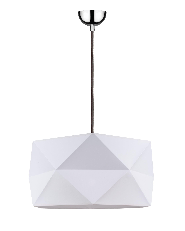 Závěsná svítilna Finja biały / antracit E27 60W