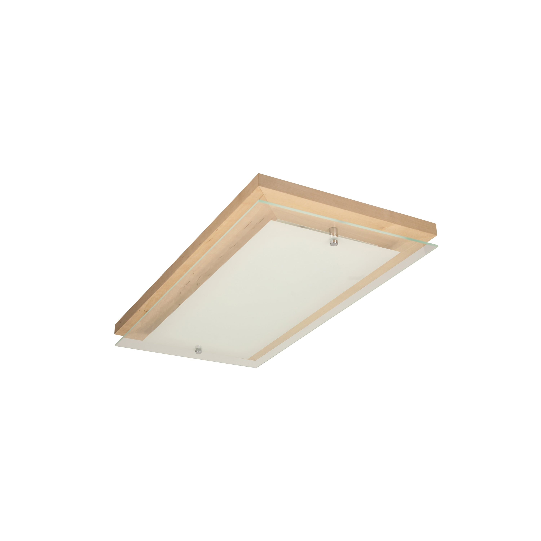 Strop Finn brzóz / chrom / bílá LED 10W