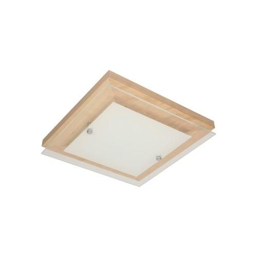 Strop Finn dub / chrom / bílá LED 2.4-14W