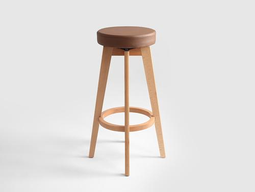 Barová stolička RENE 73 - ořech