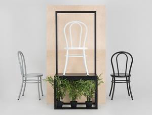 Židle CHAPLIN - bílá small 2
