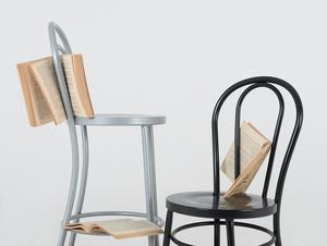 Židle CHAPLIN - černá small 1