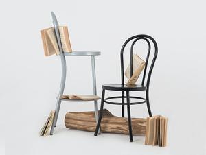 Židle CHAPLIN - černá small 2