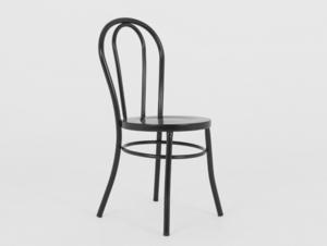 Židle CHAPLIN - černá small 0