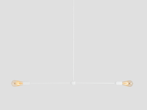 Závěsná lampa TRISO 2 - bílá