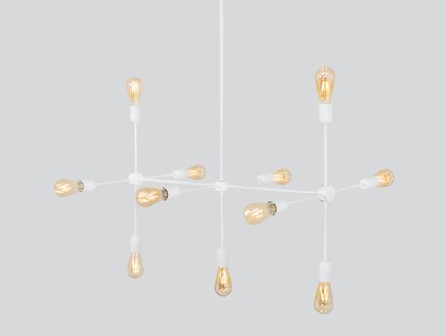 Závěsná lampa TRISO 11 - bílá