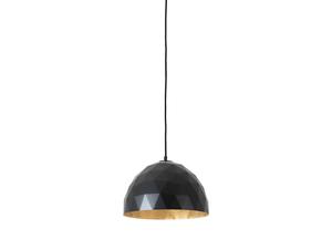 Závěsná lampa LEONARD M - zlato-černá small 0
