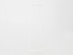 Věšák ZET, bílá barva small 3