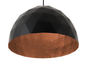 Závěsná lampa LEONARD L - měď-černá small 4