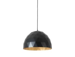 Závěsná lampa LEONARD L - zlato-černá small 0