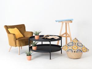 HANNA METAL 80-2F konferenční stolek small 2