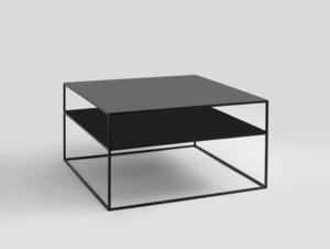 Konferenční stolek TENSIO 2 FLOOR METAL 80 small 3