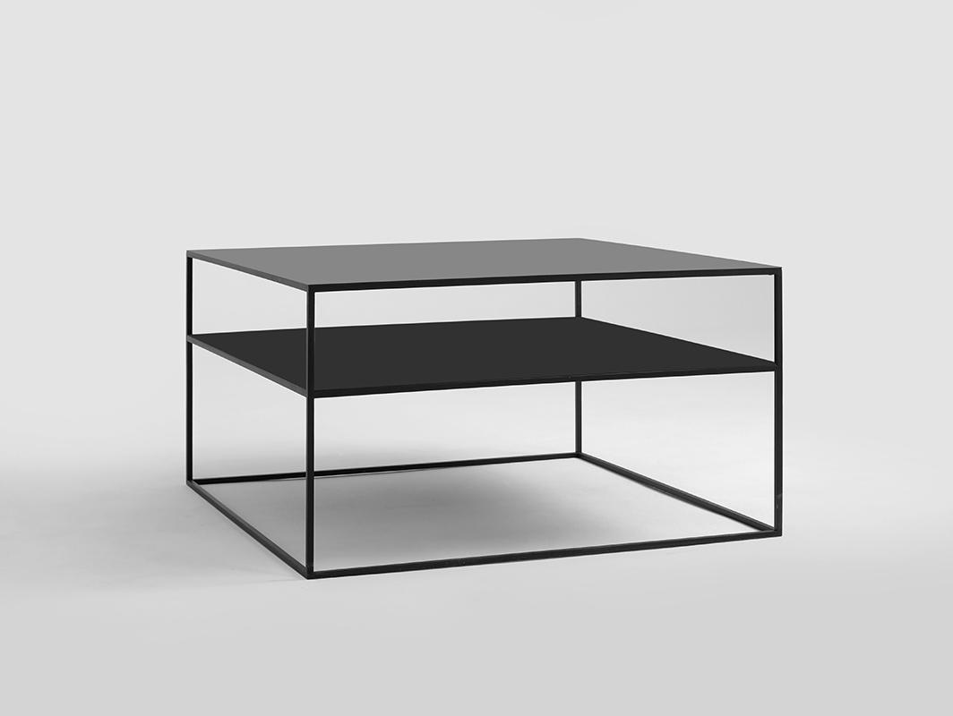 Konferenční stolek TENSIO 2 FLOOR METAL 80