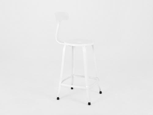 Barová stolička SOHO BAR - bílá