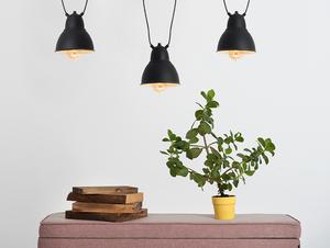 Závěsná lampa COBEN HANGMAN 3 - černá small 1