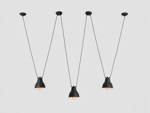 Závěsná lampa COBEN HANGMAN 3 - černá small 0