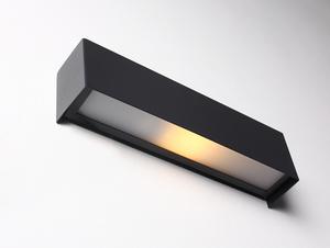 Nástěnná lampa LINE WALL XS - grafit small 0