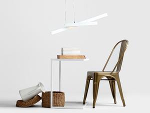 Závěsná lampa LINE PLUS M - bílá small 2
