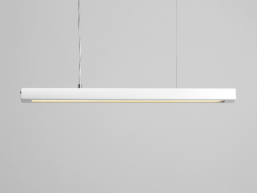 Závěsná lampa LINE PLUS M - bílá
