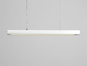 Závěsná lampa LINE PLUS M - bílá small 0
