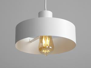 Závěsná lampa FAY 1 M - bílá small 3