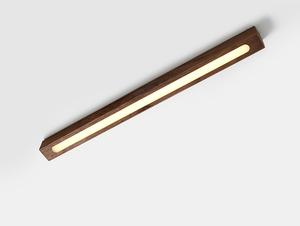 LINE PLUS M WOOD LOW stropní lampa - ořech small 0